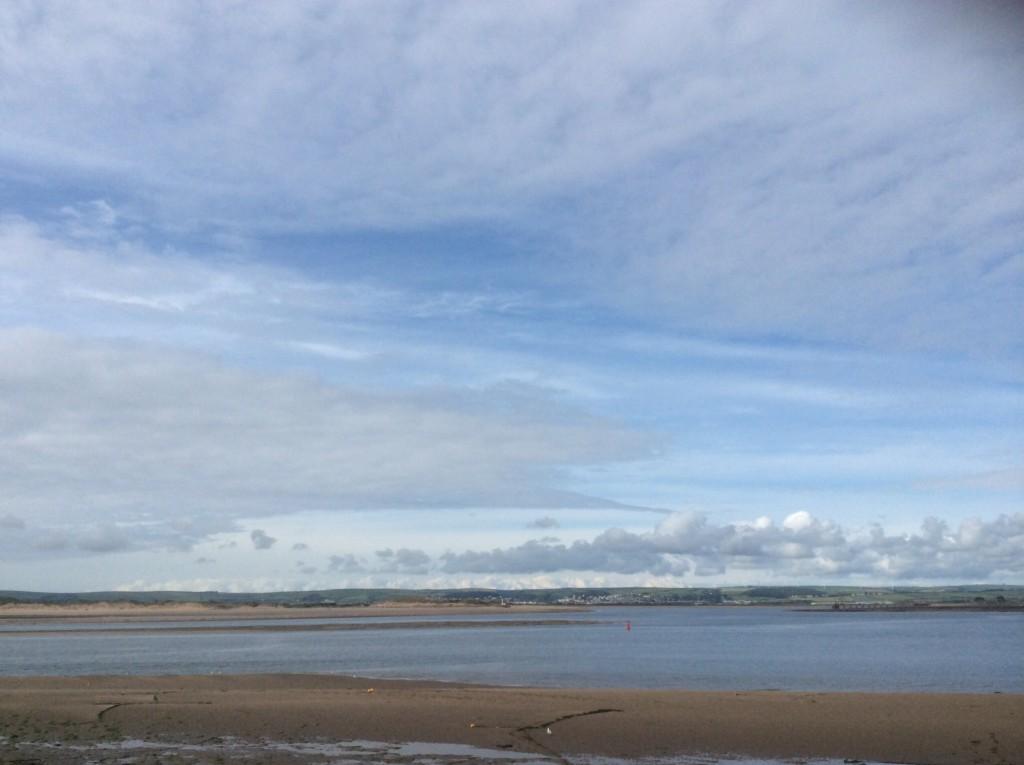 イギリスの海と空