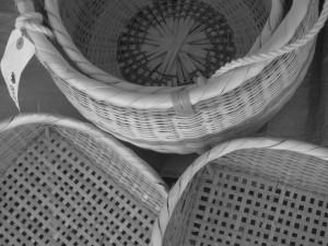 鹿場の竹細工