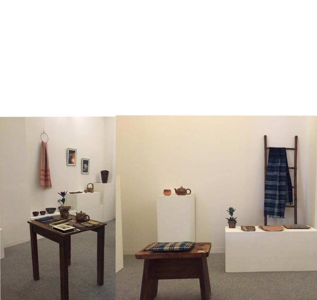 糸と土と生きる@art space largo