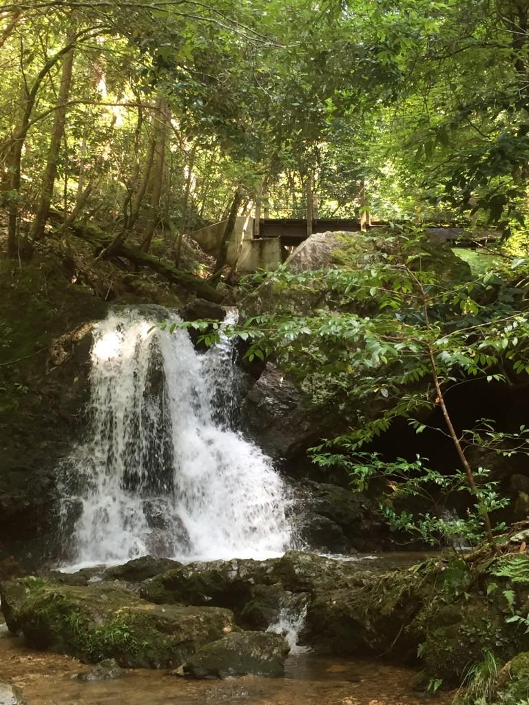 日が奥の滝